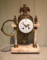 French Marble & Brass Clock Garniture (2 of 10)