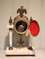 French Marble & Brass Clock Garniture (4 of 10)