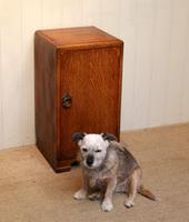 Vintage Oak Bedside Cabinet (4 of 8)