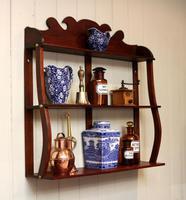 Early 19th Century Mahogany Wall Shelves (4 of 7)