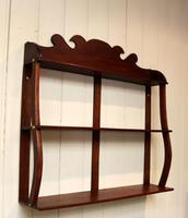Early 19th Century Mahogany Wall Shelves (7 of 7)