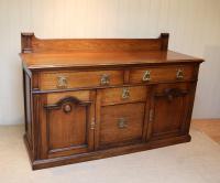 Substantial Oak Arts & Crafts Sideboard (2 of 10)