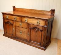 Substantial Oak Arts & Crafts Sideboard (3 of 10)