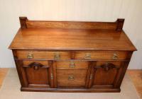 Substantial Oak Arts & Crafts Sideboard (4 of 10)