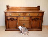 Substantial Oak Arts & Crafts Sideboard (5 of 10)