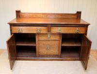 Substantial Oak Arts & Crafts Sideboard (6 of 10)