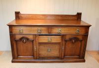 Substantial Oak Arts & Crafts Sideboard (7 of 10)