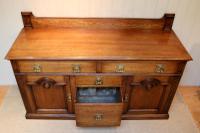 Substantial Oak Arts & Crafts Sideboard (8 of 10)