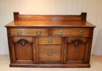 Substantial Oak Arts & Crafts Sideboard (9 of 10)
