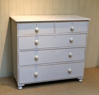 Victorian Painted Chest of Drawers (2 of 9)