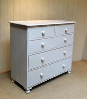 Victorian Painted Chest of Drawers (6 of 9)