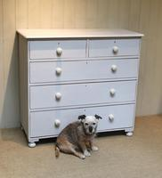 Victorian Painted Chest of Drawers (7 of 9)