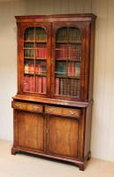 Good Quality Walnut Cabinet Bookcase (10 of 10)