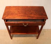 Edwardian Style Mahogany Side Table c.1930 (4 of 8)