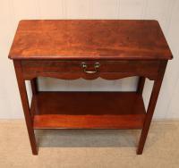 Edwardian Style Mahogany Side Table c.1930 (2 of 8)