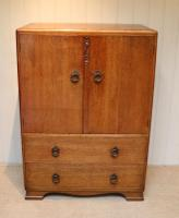Vintage Golden Oak Cabinet (2 of 8)