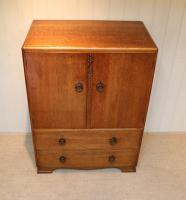 Vintage Golden Oak Cabinet (7 of 8)