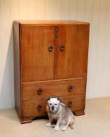Vintage Golden Oak Cabinet (3 of 8)