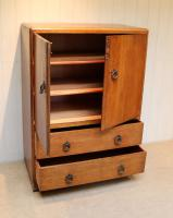 Vintage Golden Oak Cabinet (5 of 8)