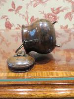 19th Century Wooden Vesta Match Holder Cauldron Shape (3 of 6)