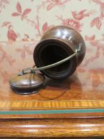 19th Century Wooden Vesta Match Holder Cauldron Shape (5 of 6)