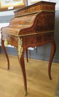 Walnut & Mahogany Bureau in the Louis XVI Manner (3 of 12)