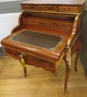 Walnut & Mahogany Bureau in the Louis XVI Manner (12 of 12)