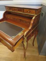Walnut & Mahogany Bureau in the Louis XVI Manner (5 of 12)