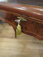 Walnut & Mahogany Bureau in the Louis XVI Manner (7 of 12)