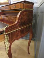 Walnut & Mahogany Bureau in the Louis XVI Manner (8 of 12)