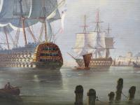 Marine Painting by Michael Matthews 'Off Malta' (3 of 7)