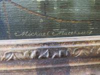Marine Painting by Michael Matthews 'Off Malta' (7 of 7)