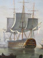 Marine Painting by Michael Matthews 'Off Malta' (4 of 7)