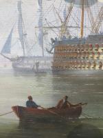 Marine Painting by Michael Matthews 'Off Malta' (5 of 7)