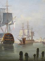 Marine Painting by Michael Matthews 'Off Malta' (6 of 7)
