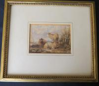 Sheep in a Landscape Attr. Thomas Sidney Cooper (2 of 3)