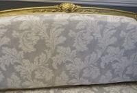 French Giltwood Sofa Restored & Upholstered c.1860 (3 of 10)