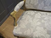French Giltwood Sofa Restored & Upholstered c.1860 (5 of 10)