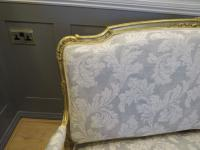 French Giltwood Sofa Restored & Upholstered c.1860 (6 of 10)