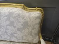 French Giltwood Sofa Restored & Upholstered c.1860 (7 of 10)