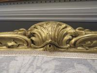 French Giltwood Sofa Restored & Upholstered c.1860 (10 of 10)