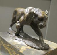 Solid Bronze Casting of a Big Cat after Fratin (3 of 5)