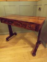 William IV Rosewood Library Table / Centre Table (2 of 12)