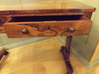 William IV Rosewood Library Table / Centre Table (8 of 12)