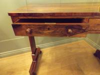 William IV Rosewood Library Table / Centre Table (9 of 12)