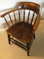 Pair of 'Smokers Bow' Armchairs (2 of 5)