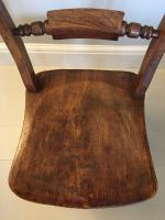 Pair of Rope Back Chairs c.1870 (3 of 4)