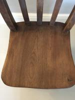 Pair of Slat Back Kitchen Chairs (2 of 5)