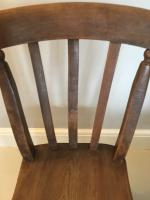 Pair of Slat Back Kitchen Chairs (4 of 5)