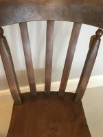 Pair of Slat Back Kitchen Chairs (5 of 5)